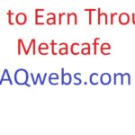 Earn through metacafe