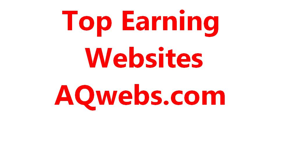 top earning websites