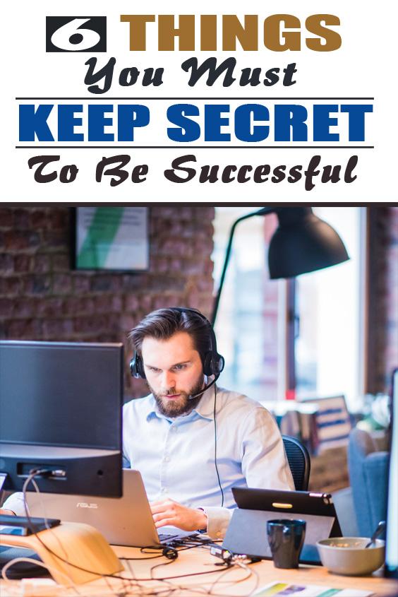 things to keep secret